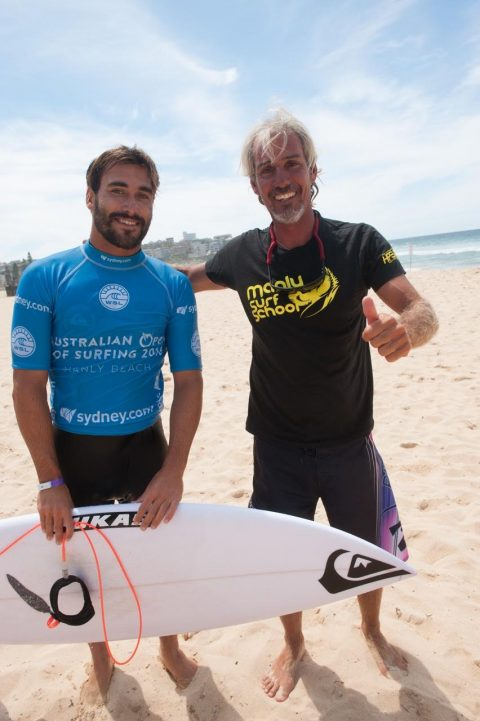 Aritz Aranburu  World Surf League  Top 10 en 2014