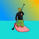 remado paddle surf