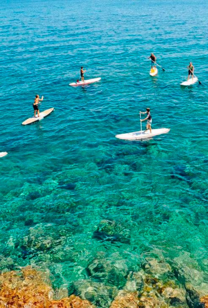 Paddle SUrf experience camp Dénia